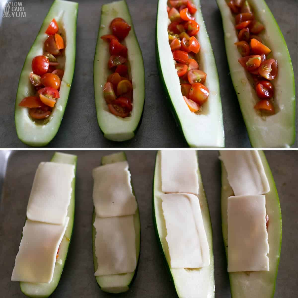zucchini pizza toppings