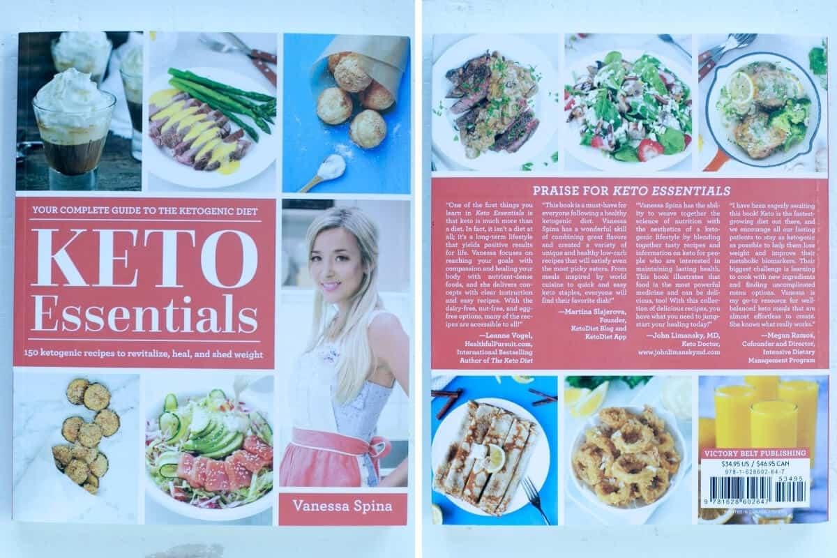 keto essentials cookbook