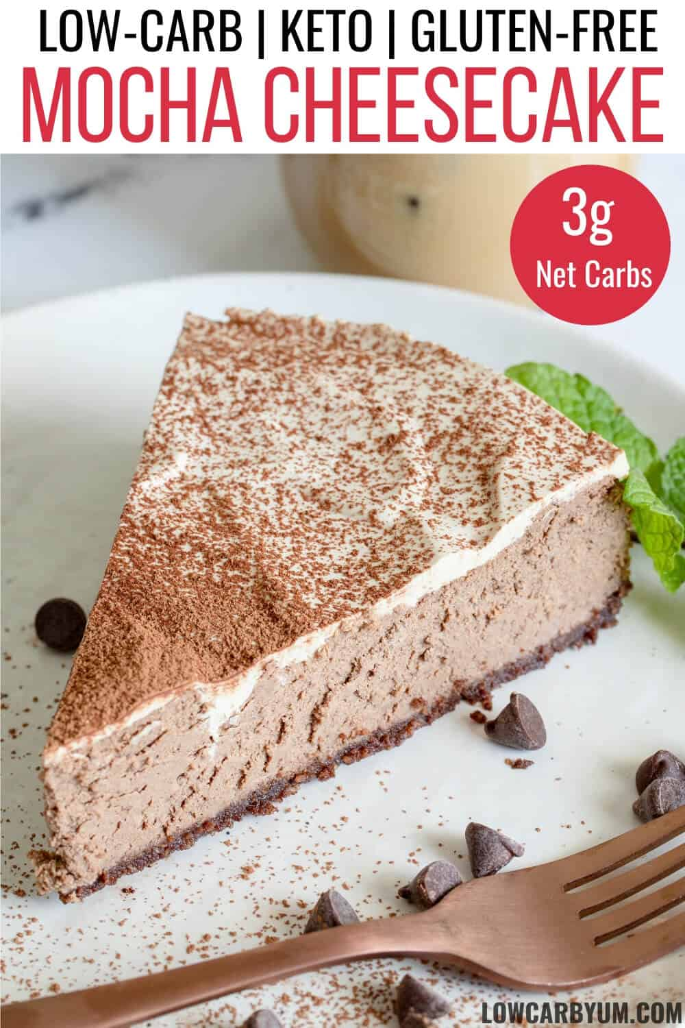 mocha cheesecake recipe