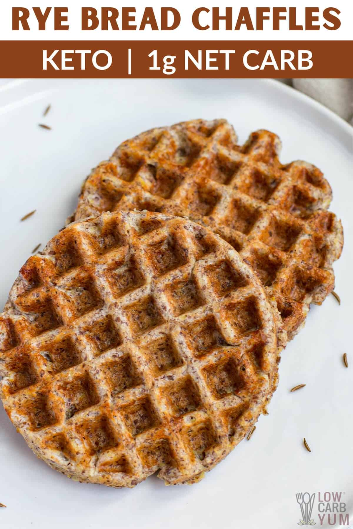 rye bread chaffles recipe