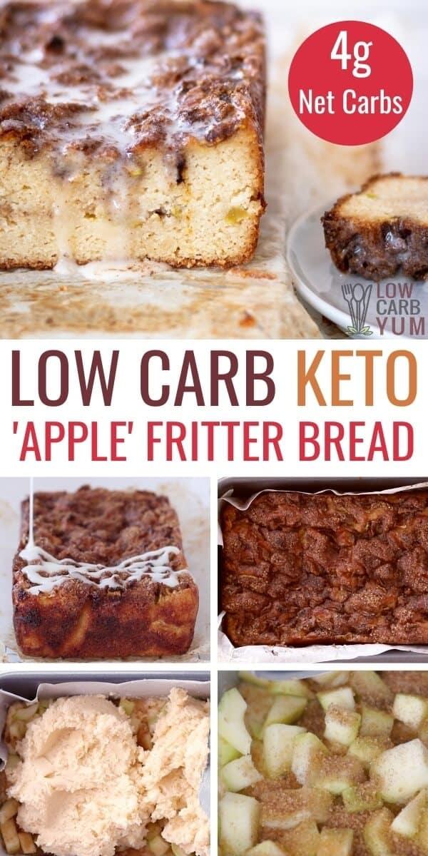 keto apple fritter bread recipe