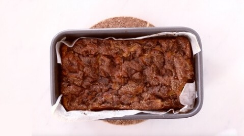 baked apple fritter zucchini bread