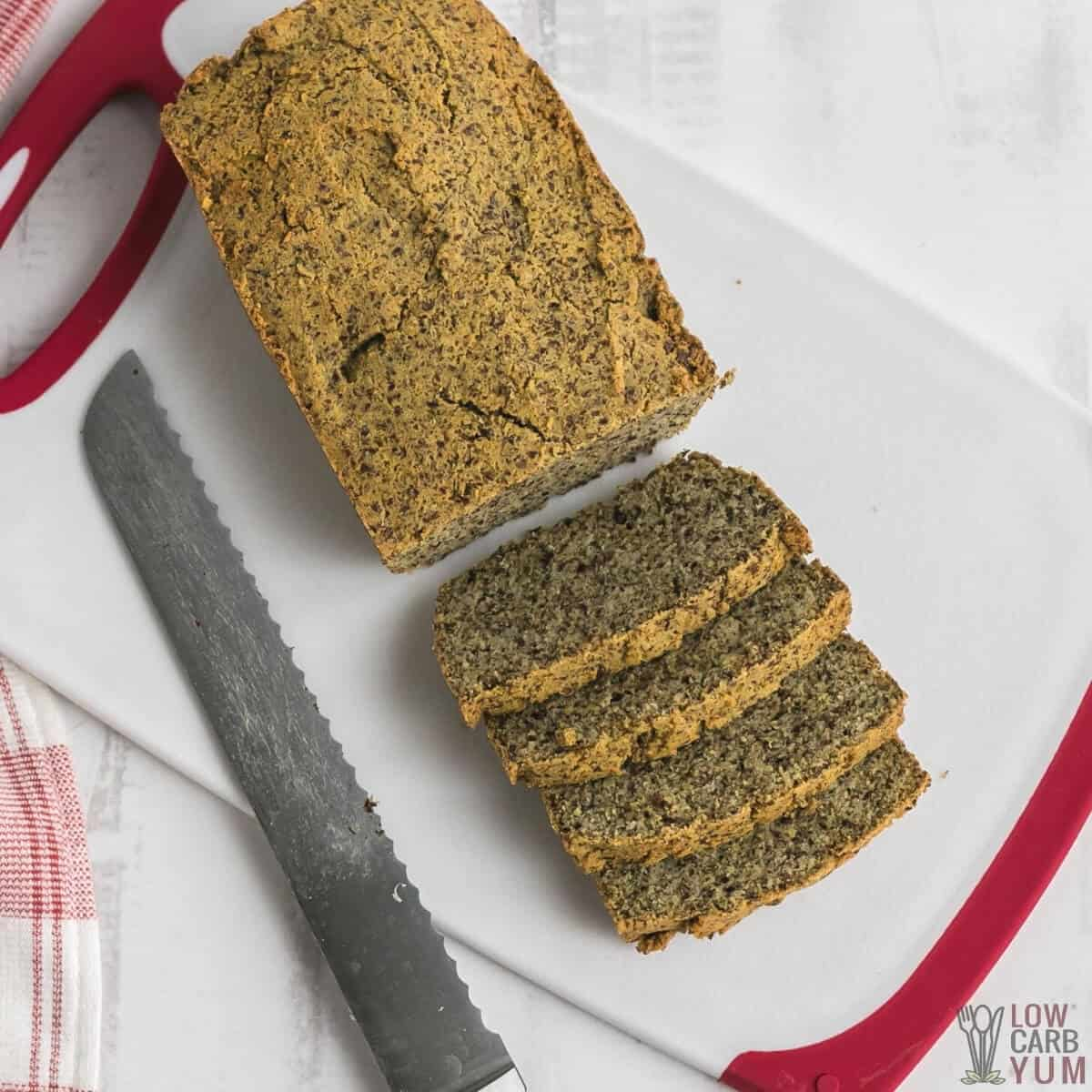 keto flax meal bread recipe