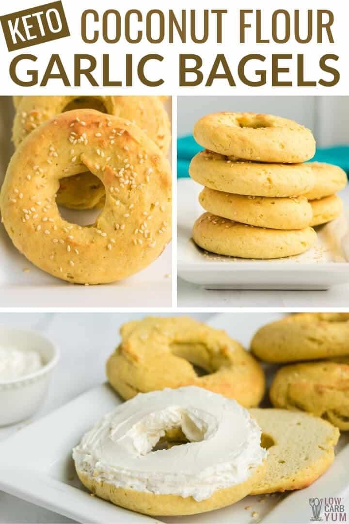 coconut flour garlic bagels recipe