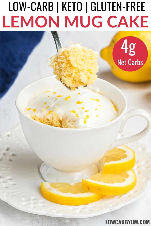 keto lemon mug cake recipe