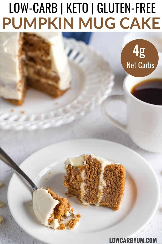 keto pumpkin mug cake recipe