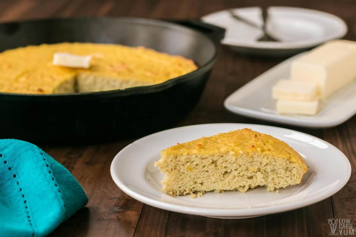 low-carb keto friendly cornbread