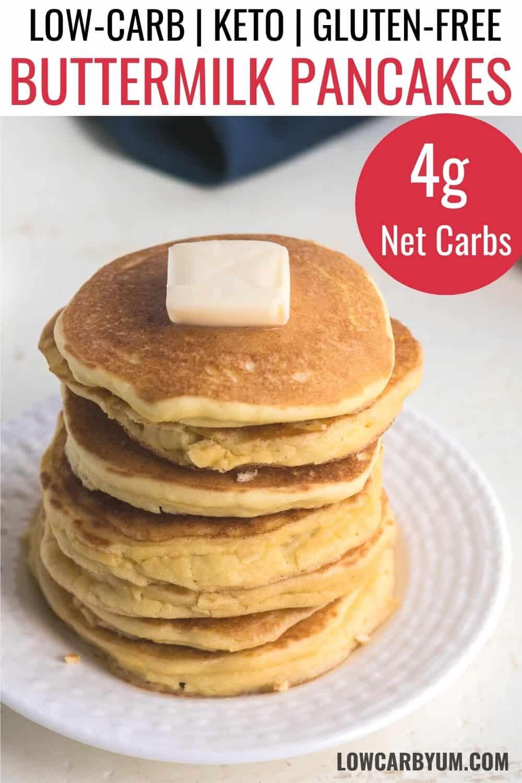 oat fiber keto pancakes