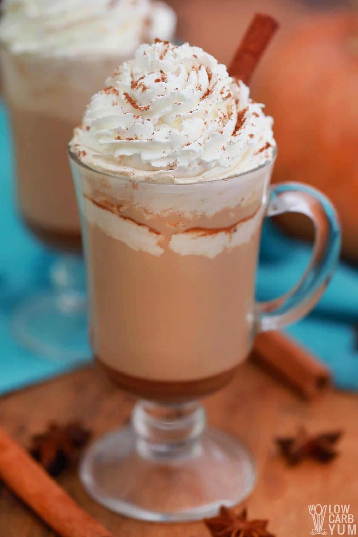 pumpkin spice latte coffee