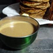 pumpkin syrup glaze