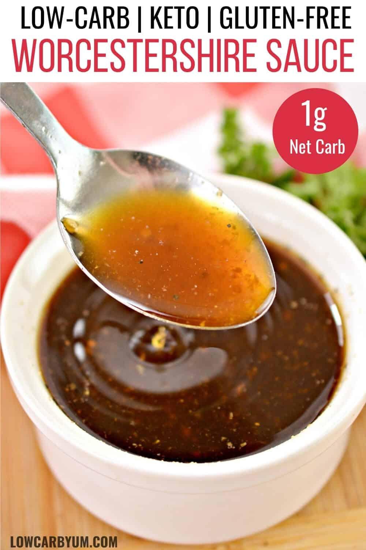 worcester sauce keto recipe