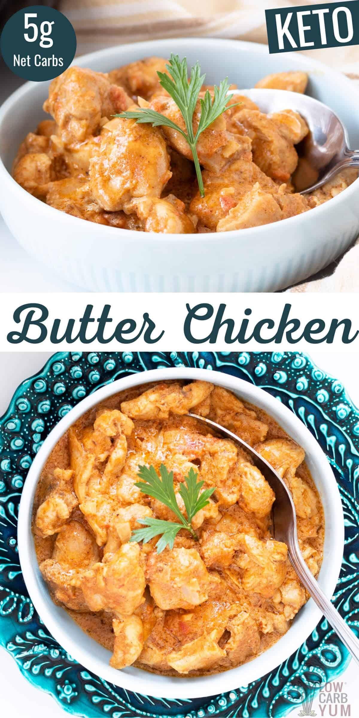keto butter chicken recipe