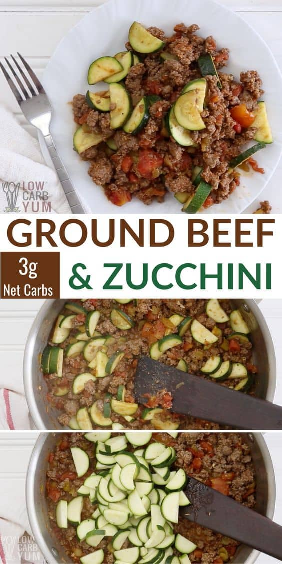 ground beef zucchini recipe