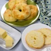 keto coconut flour fathead dough bagels recipe