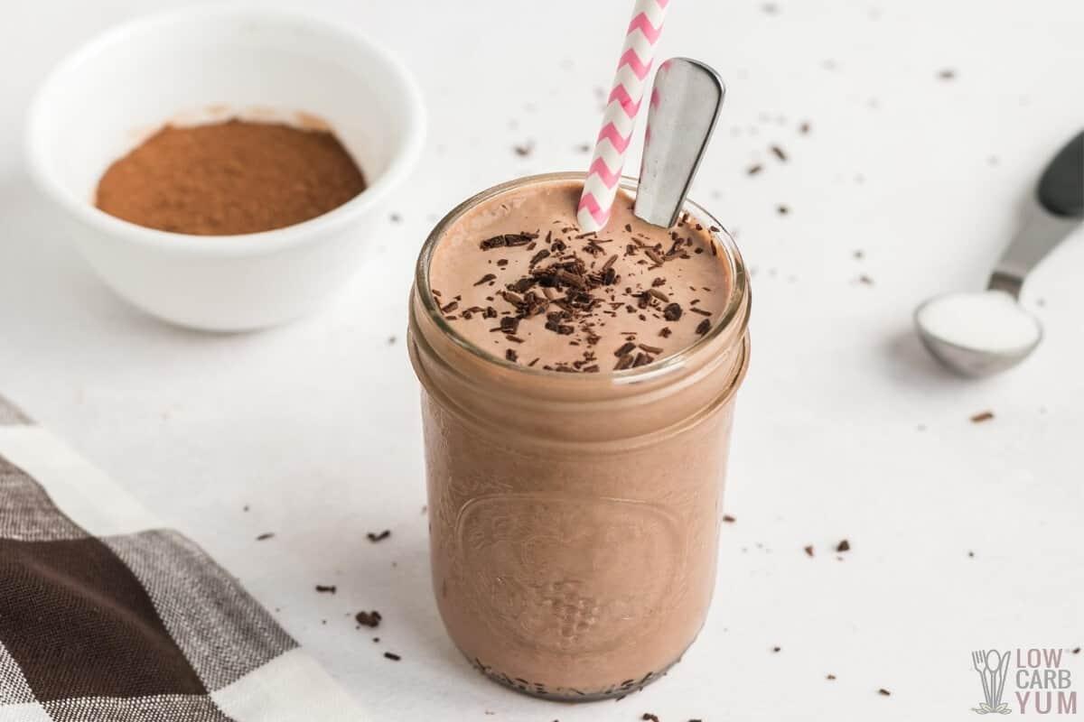 keto frosty chocolate shake recipe