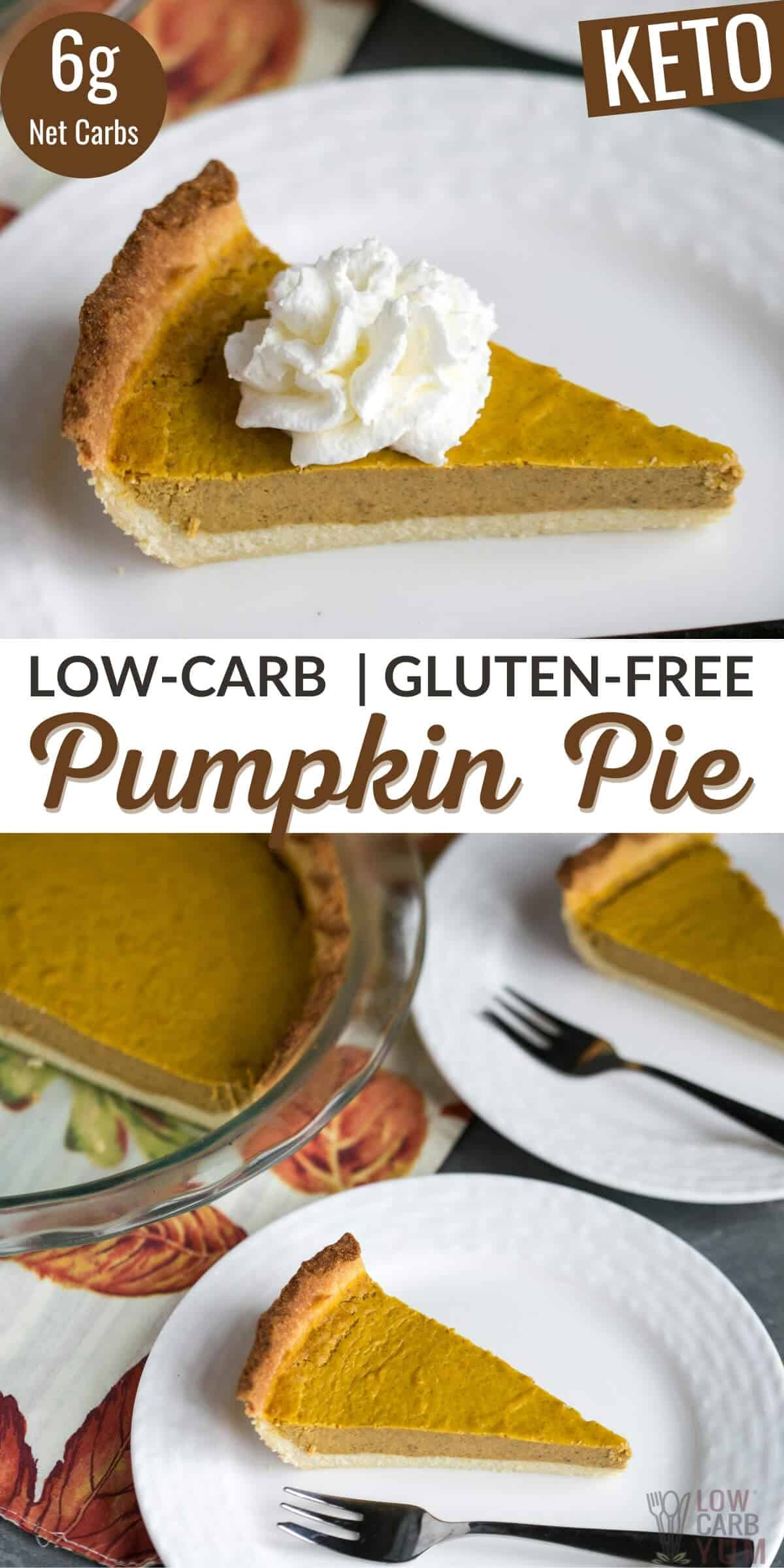 low carb keto pumpkin pie recipe