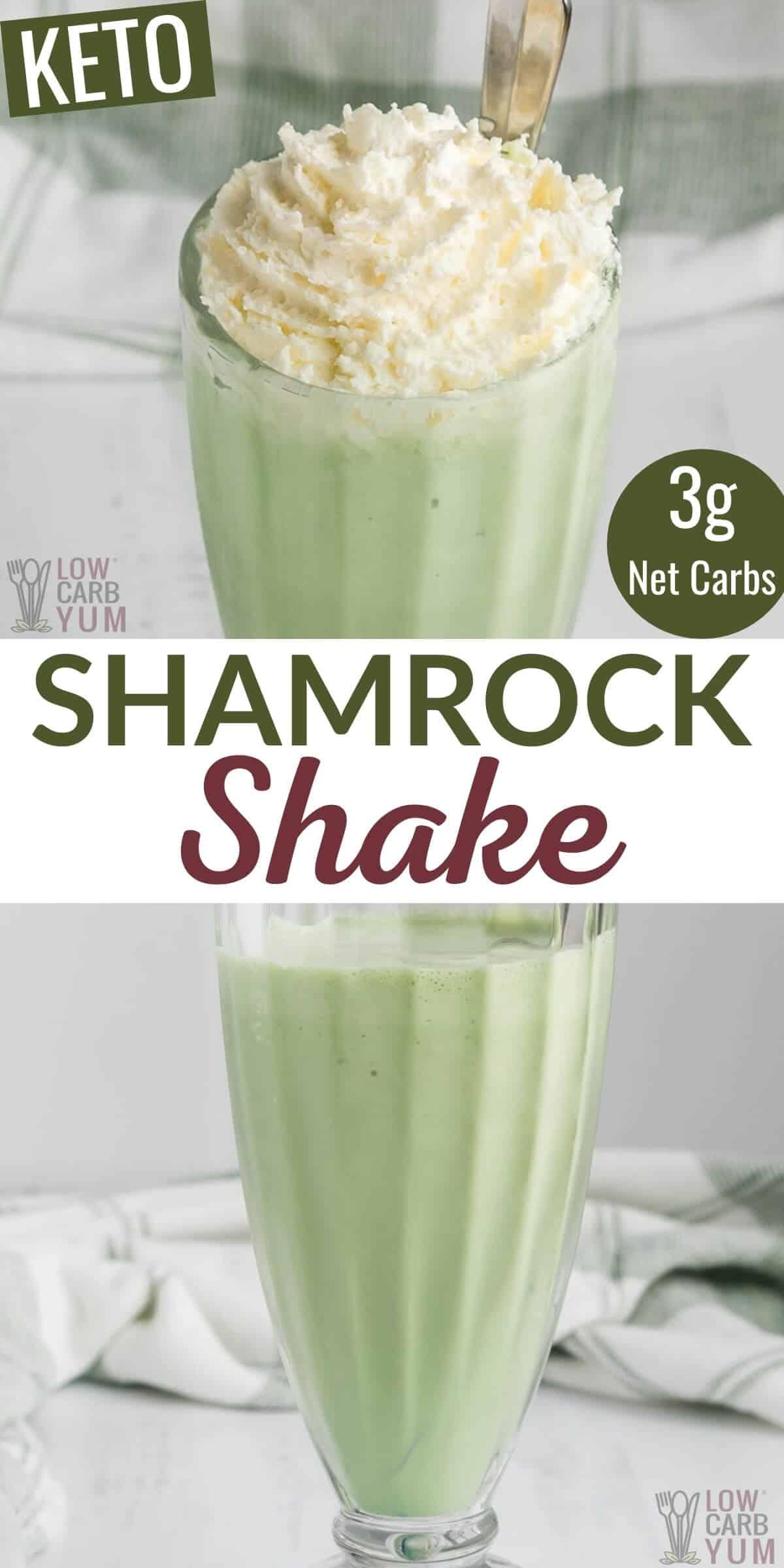 keto shamrock shake recipe