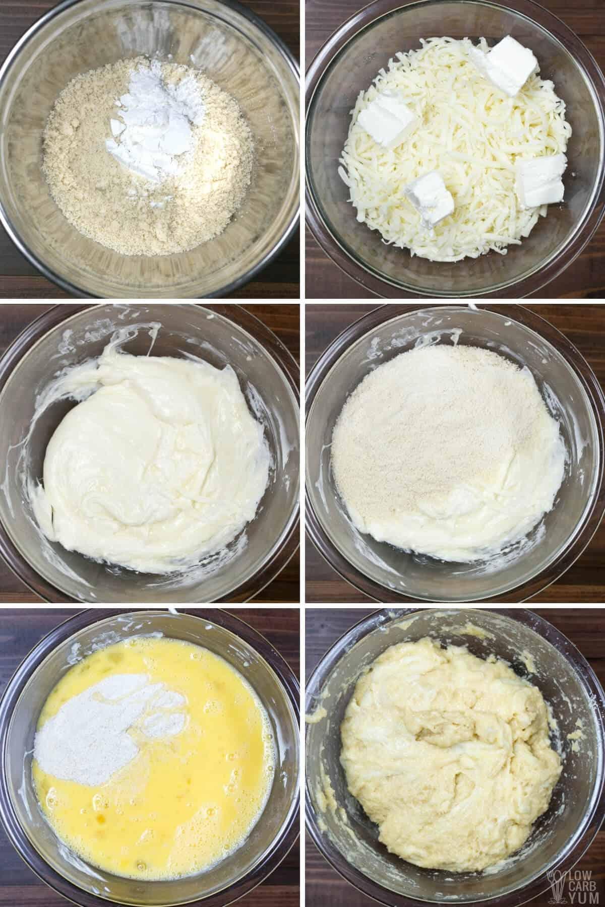 making coconut flour fathead dough