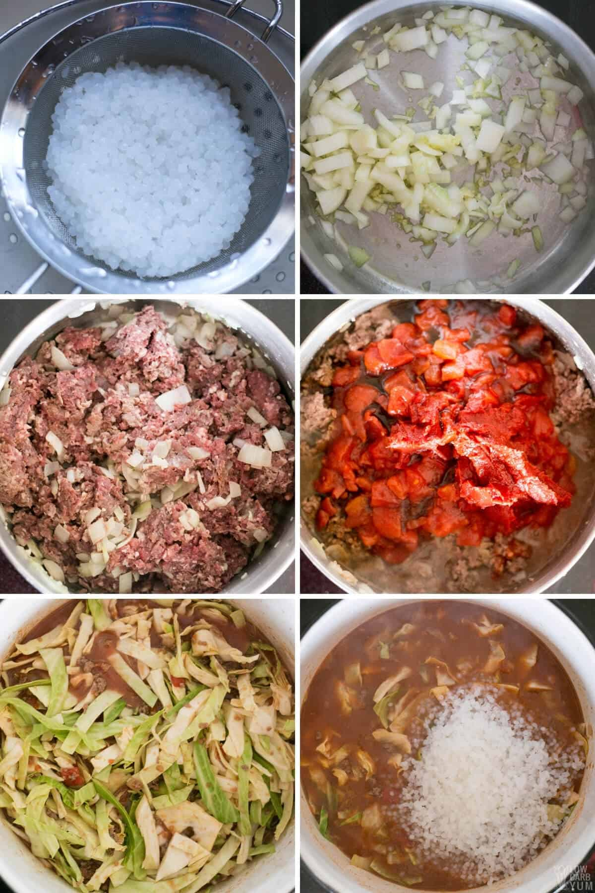 steps to make the soup