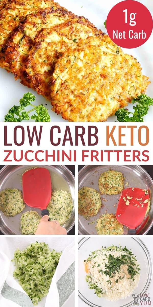gluten free keto zucchini fritters