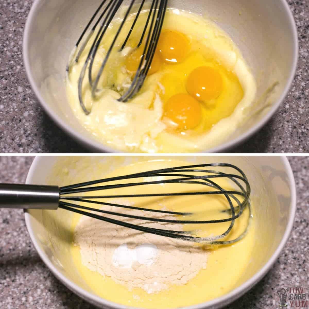 coconut flour pancake batter
