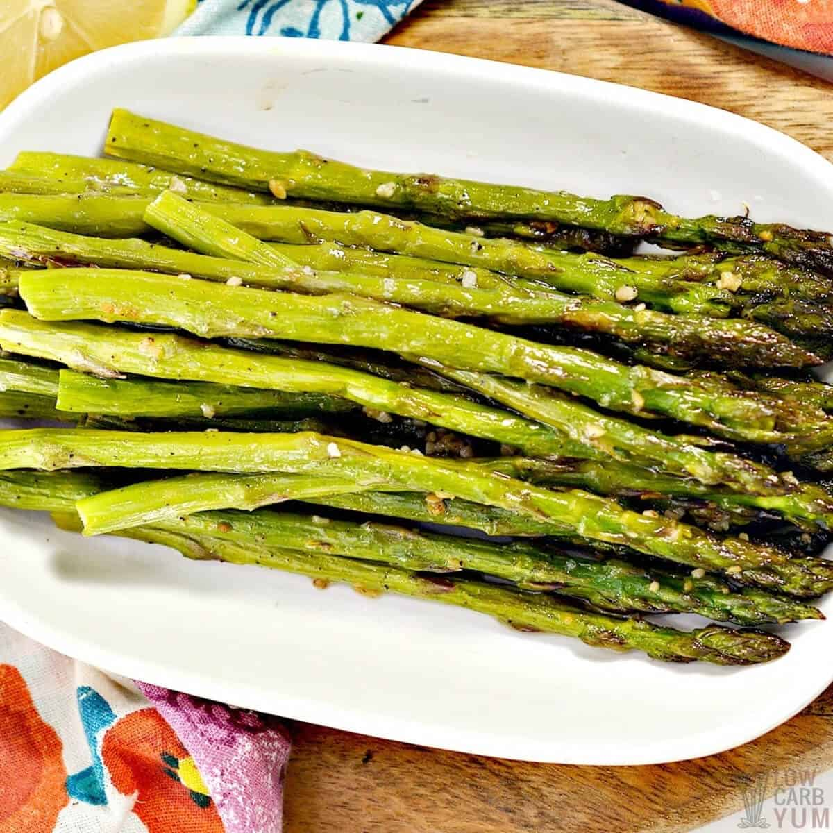 oven roasted asparagus spears