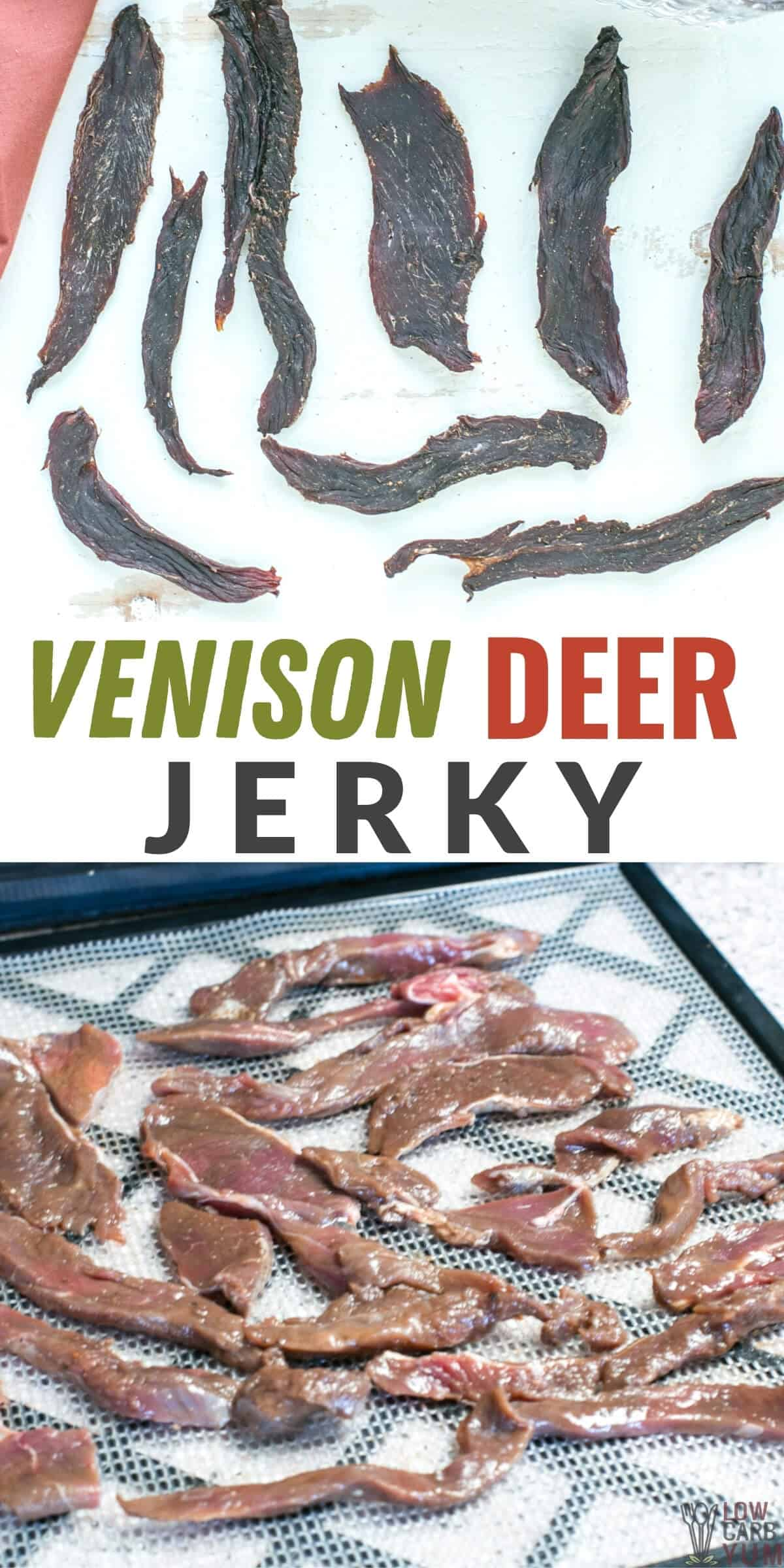 venison deer jerky pinterest image