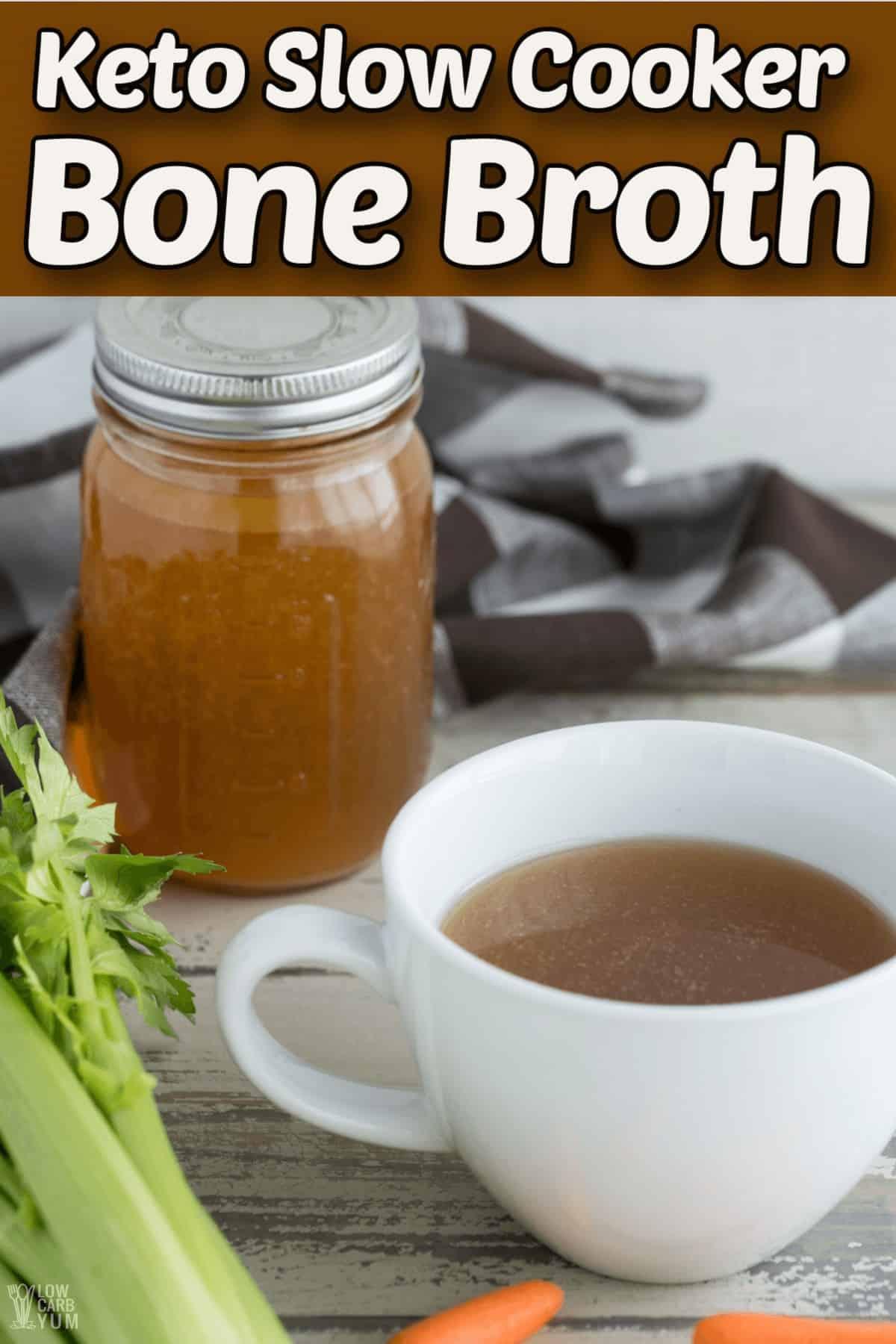 keto bone broth recipe