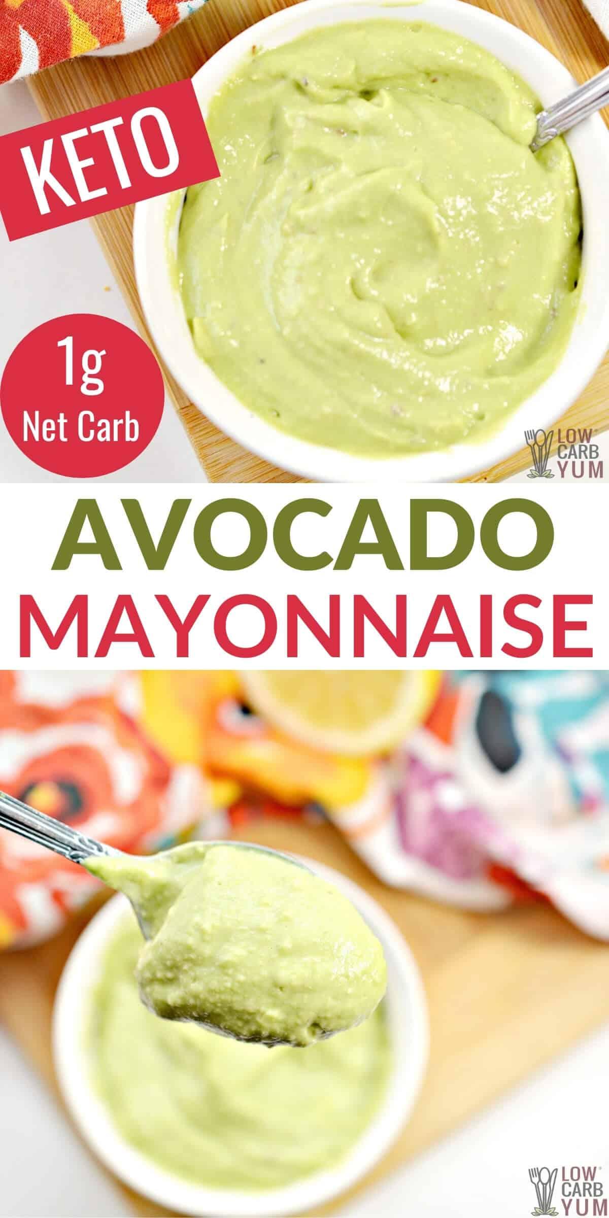 avocado mayonnaise pinterest image