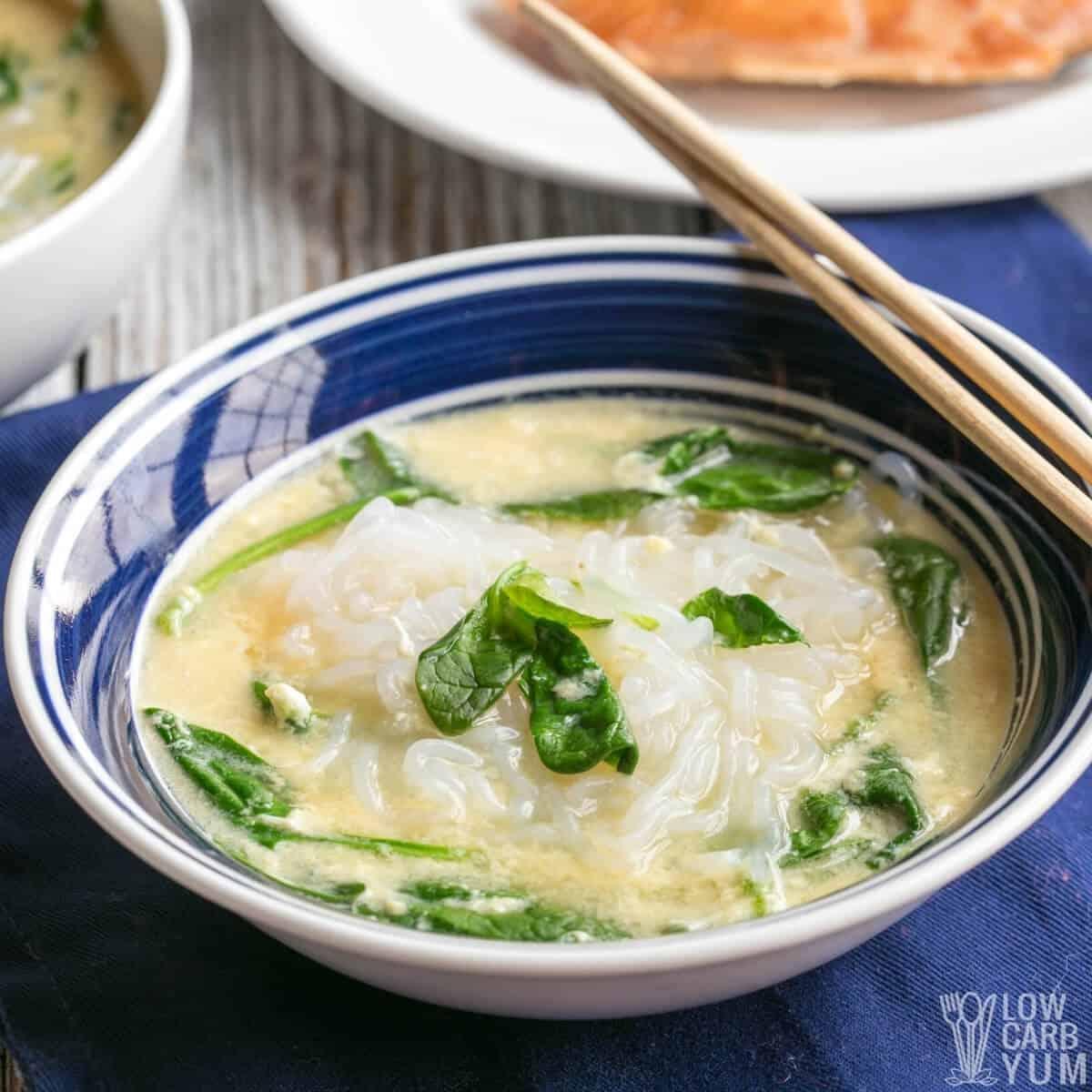 keto ramen shiratake noodle soup
