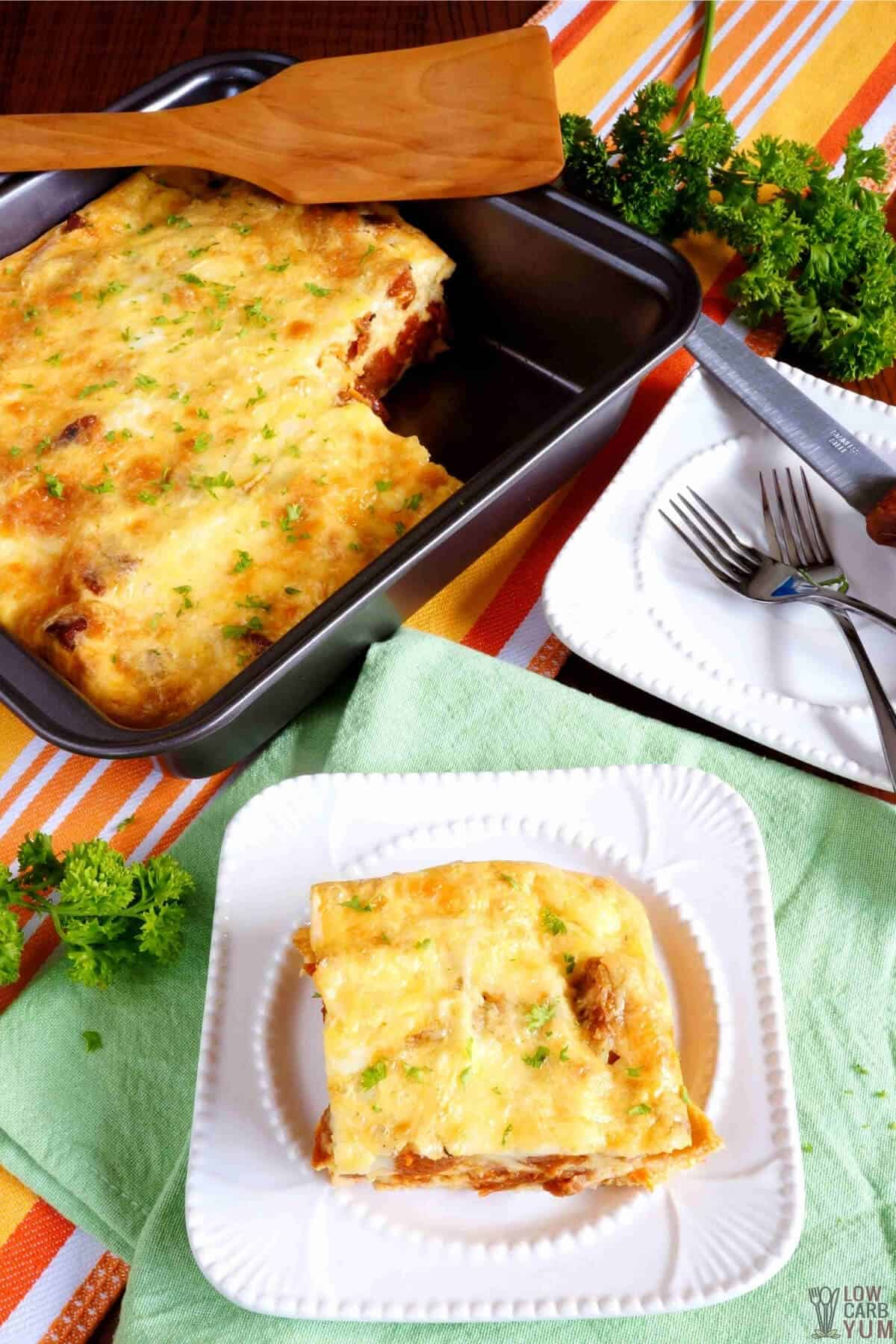keto sausage egg and cheese casserole without bread