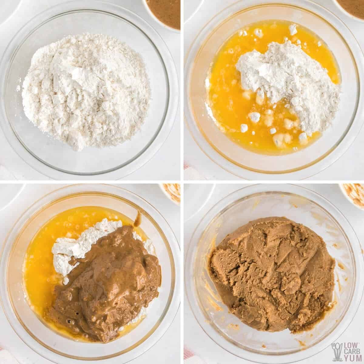 step by step photos to make keto peanut butter balls