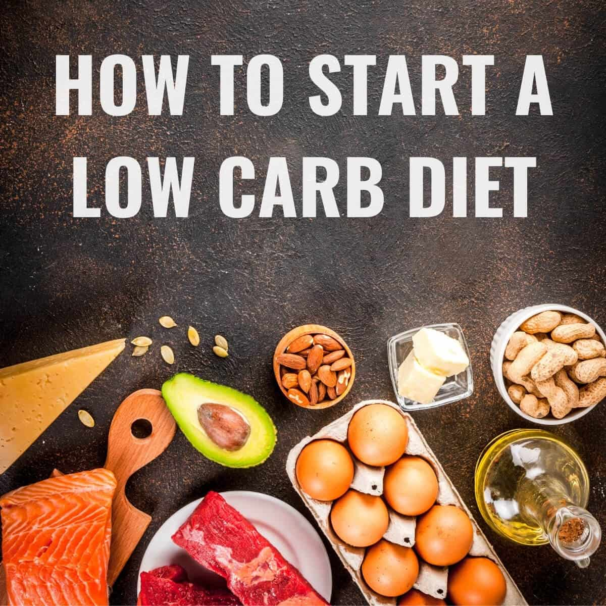 how to start a low carb diet featured image