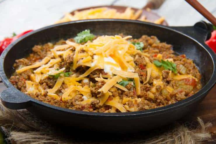 low carb stovetop chili