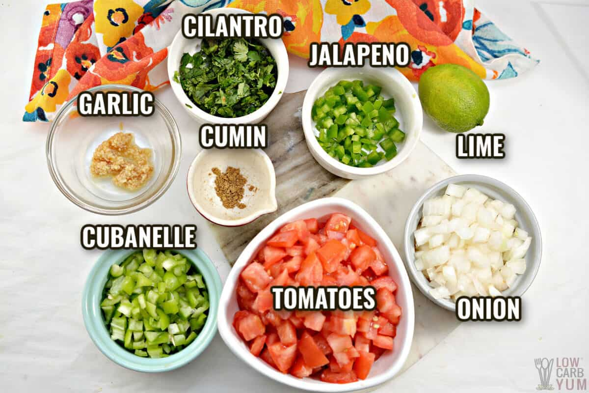 keto salsa ingredients