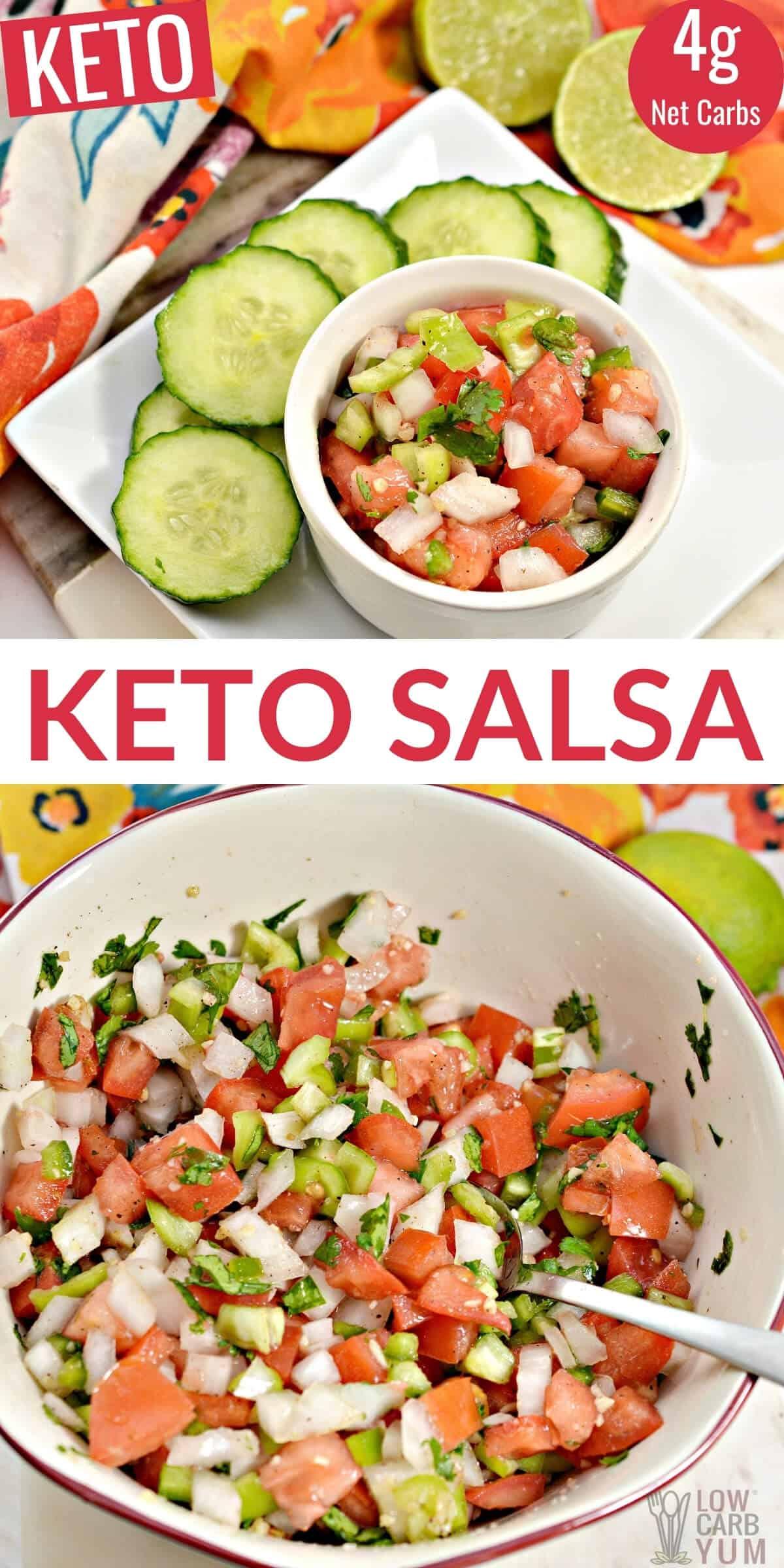 keto salsa pinterest image