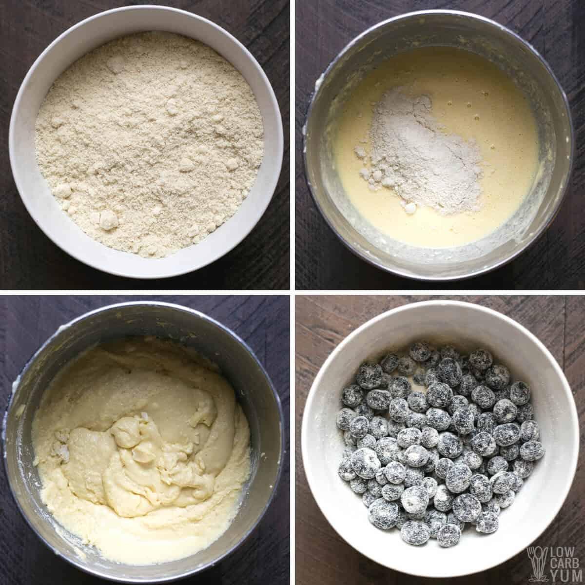 lemon blueberry pound cake recipe steps 2