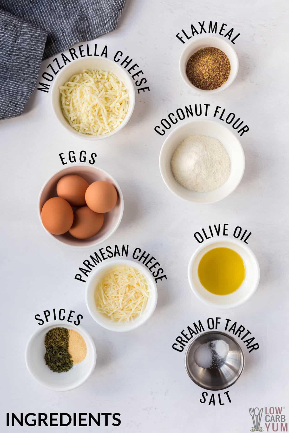 coconut flour pizza crust ingredients