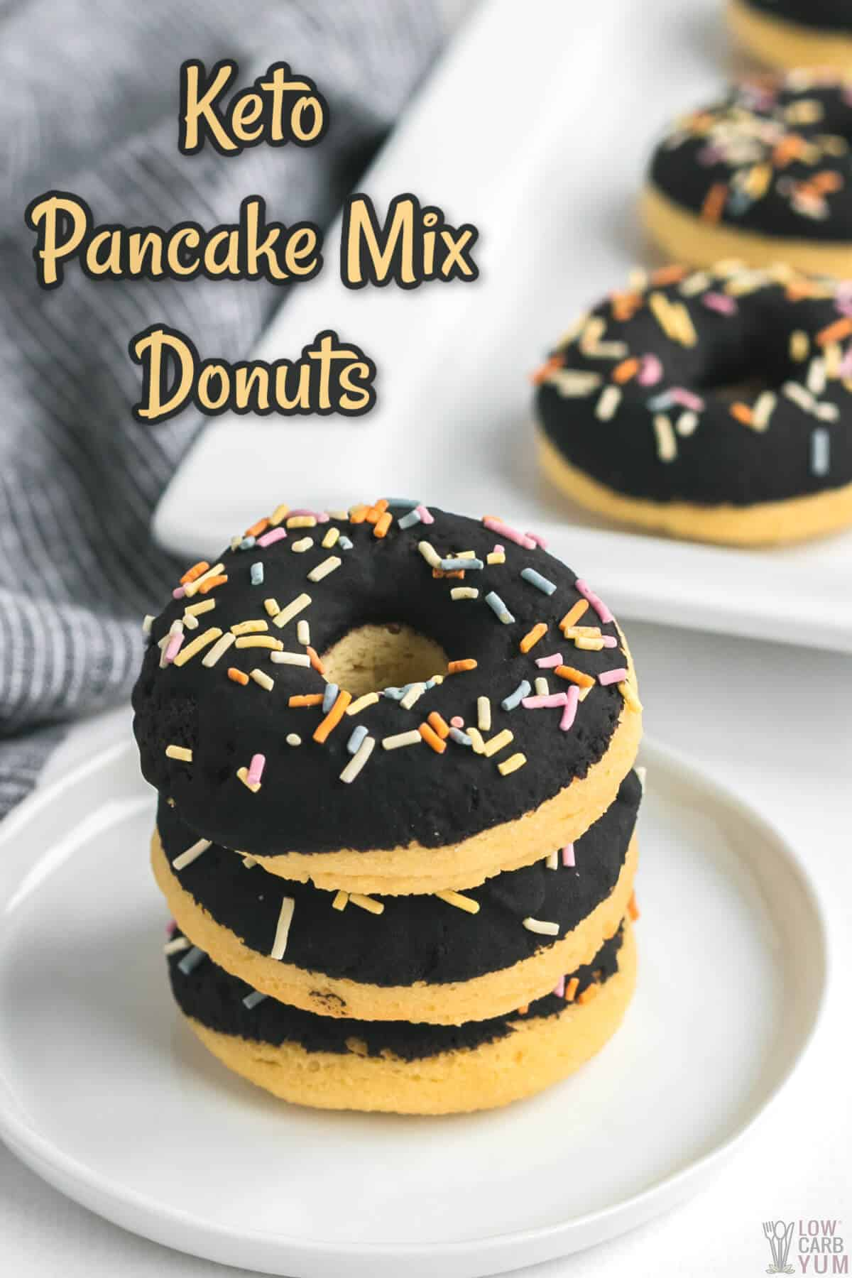 keto pancake donut mix donuts cover image