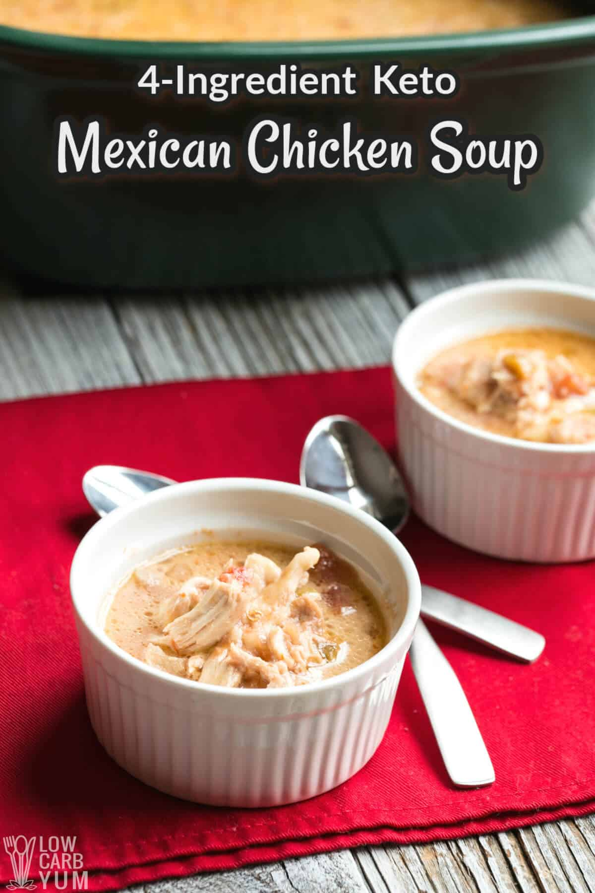 mexican chicken soup recipe cover image