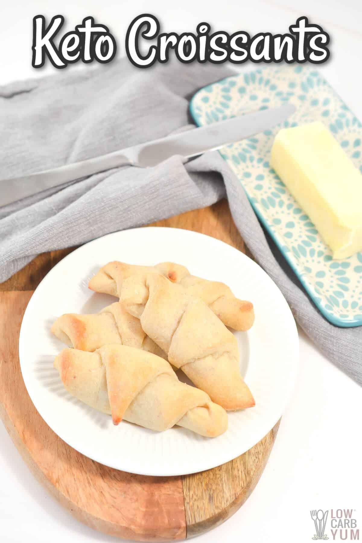 keto croissants cover image