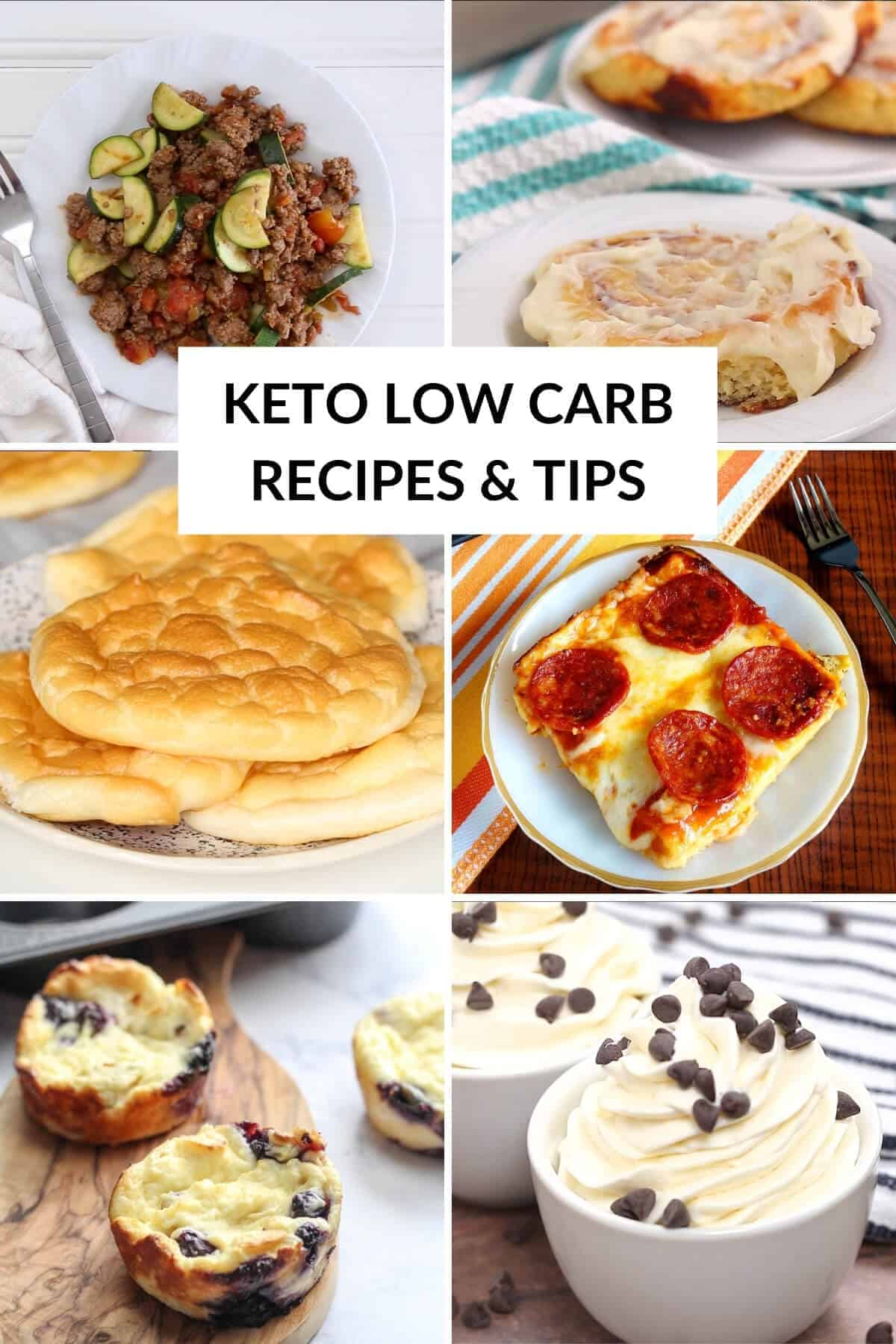 subscribe low carb recipes and tips