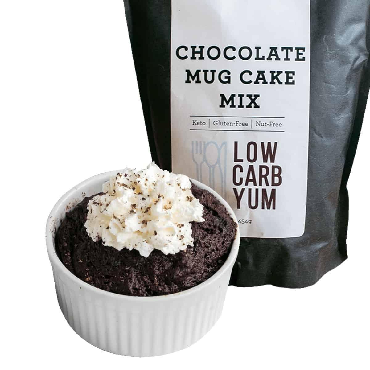 keto chocolate mug cake mix
