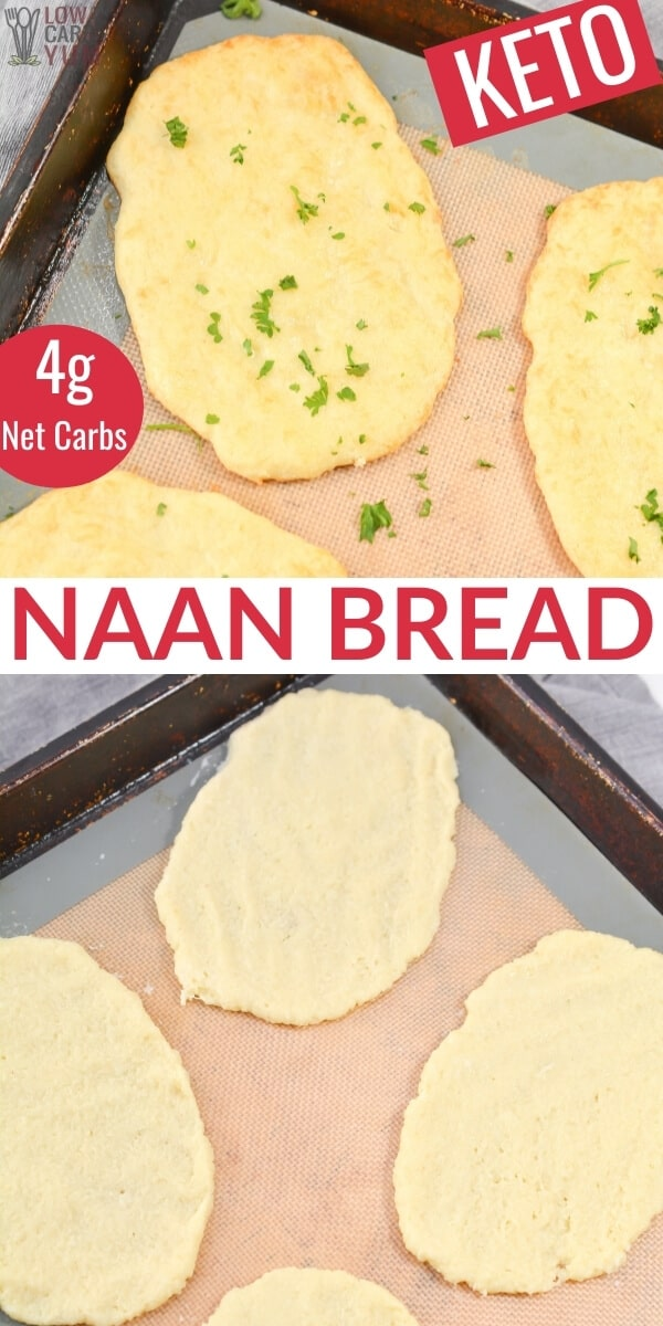 keto naan bread pinterest image