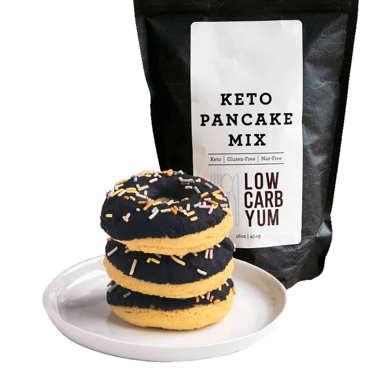 keto pancake mix donut kit