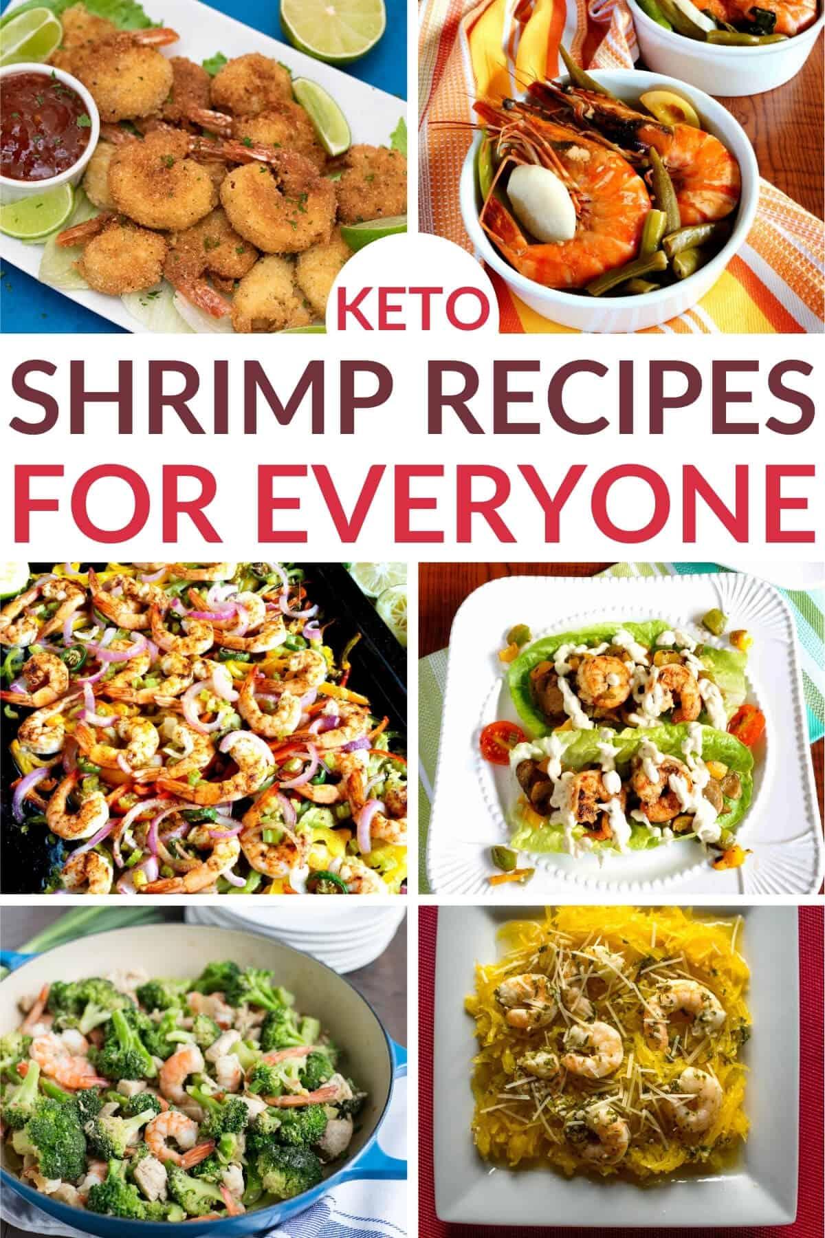 keto shrimp recipes cover image