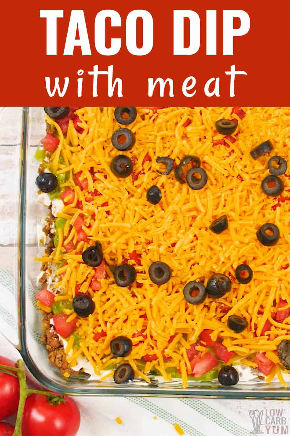 taco dip with meat cover image