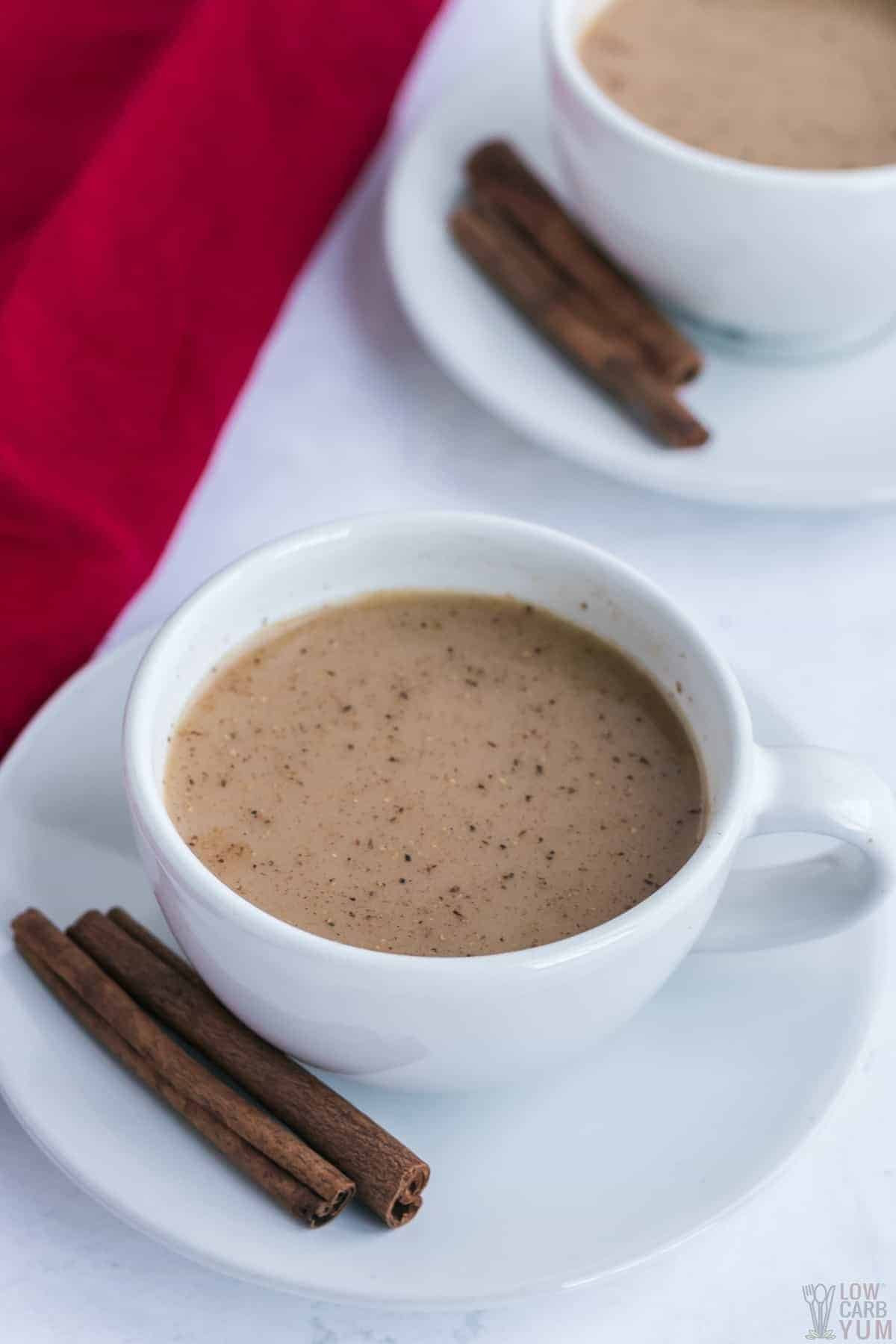 chai masala tea in cups