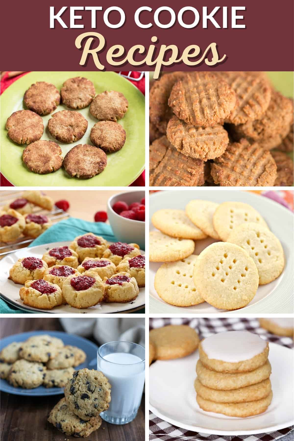 keto cookie recipes cover image