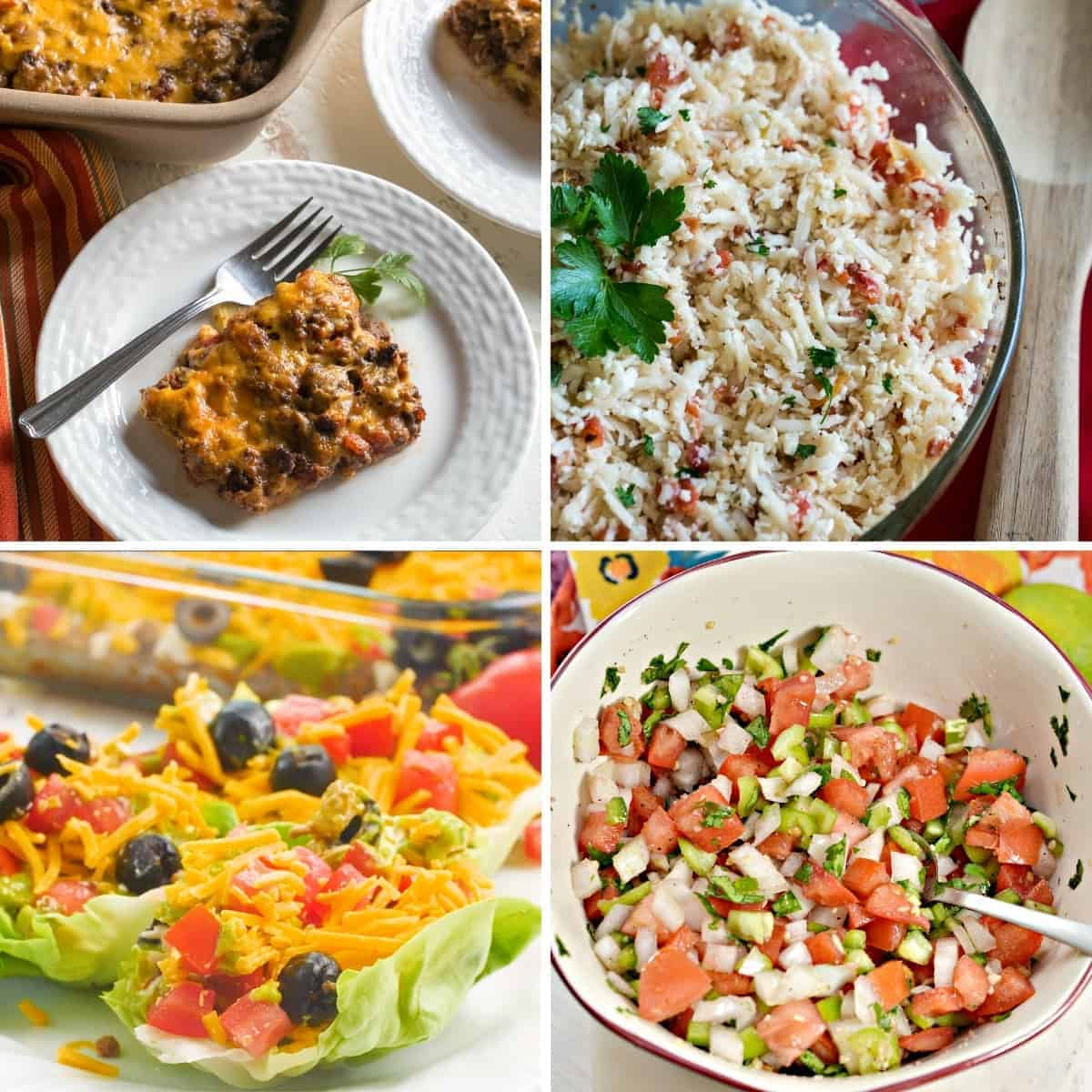 keto mexican recipes featured image